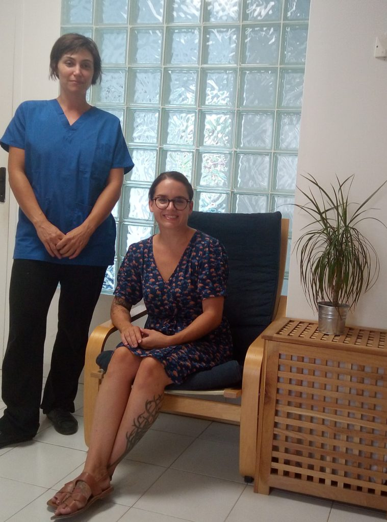 Mallory Fossard Etiopathe  Chloé Batlle Sophrologue Montpellier